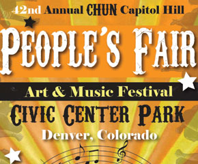 People's Fair performance schedule