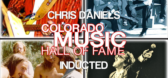 Dec 13 Feature – Chris Daniels and the Colorado Music Hall of Fame Inductees