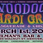 2nd Annual Voodoo Mardi Gras Masquerade and Circus Returns to Casselman's