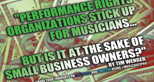 Sept 14 Feature – Performance Rights Organizations Affect Small  Businesses