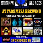 Taos Mesa Brewing to Hold Awards Ceremony Celebrating Regional Musicians